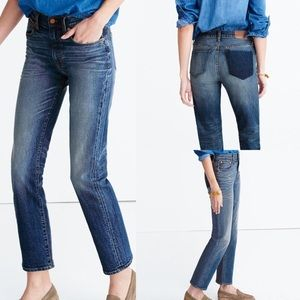 Cruiser straight shadow pocket jeans